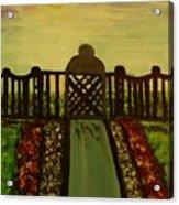 Twilight In The Park Acrylic Print