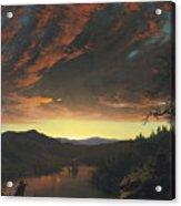 Twilight In The Wilderness Acrylic Print