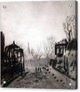 Twilight Landscape 1880 Alexey Kondratievich Savrasov Acrylic Print
