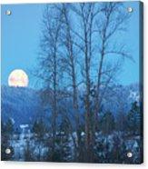 Twilight Moon Acrylic Print