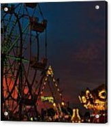 Twilight On The Midway  Acrylic Print