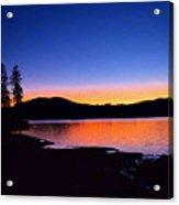 Twilight On Toxaway Acrylic Print