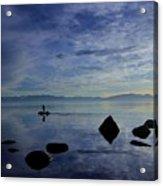 Twilight Paddle  Acrylic Print