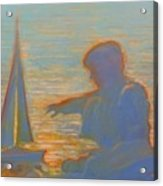 Twilight Sailor Acrylic Print