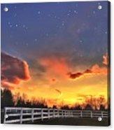 Twilight Sunset Acrylic Print