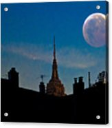 Twilight Time In The City Acrylic Print