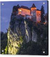 Bled Castle Acrylic Print