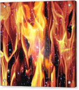 Twin Flames Acrylic Print