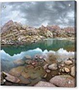 Twin Lakes - Weminuche Wilderness - Colorado Acrylic Print
