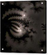 Twin Moons Acrylic Print