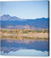 Twin Peaks Reflection Acrylic Print