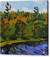 Twin Pines Acrylic Print