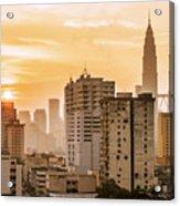 Twin Towers Acrylic Print