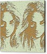 Twins 2 Acrylic Print