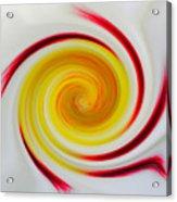Twirled Cistus 1 Acrylic Print