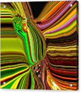 Twisted Glass Acrylic Print