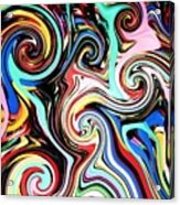 Twisted Lines Acrylic Print