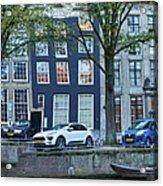 Twisted Panorama. Amsterdam Acrylic Print
