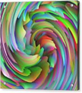 Twisted Rainbow 2 Acrylic Print