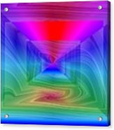 Twister In A Prism Acrylic Print