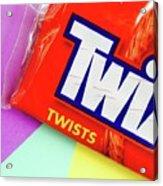 Twix Candy Acrylic Print