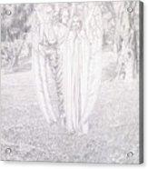 Two Angels, 1904  Acrylic Print
