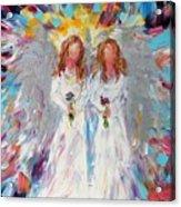 Two Angels Acrylic Print