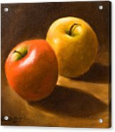 Two Apples Acrylic Print