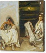 Two Arab Women Acrylic Print