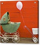 Two Baby Buggies  Acrylic Print