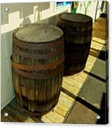 Two Barrels Acrylic Print