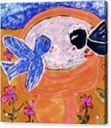 Two Birds Acrylic Print