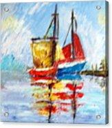 Two Boats Acrylic Print