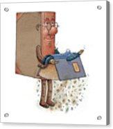 Two Books Acrylic Print