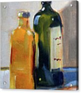 Two Bottles Acrylic Print