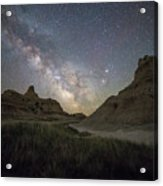 Two Buttes And A Beaut Acrylic Print