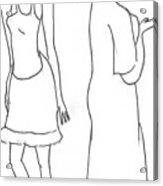 Two Characters Acrylic Print