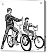 Two Cool Riders Acrylic Print