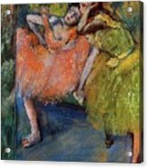 Two Dancers In The Foyer Acrylic Print