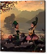 Two Elves Acrylic Print