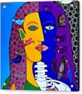 Two Faces Acrylic Print