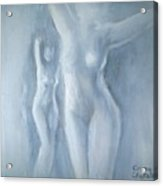Two Female Nudes Acrylic Print