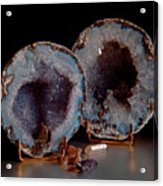 Two Geodes Acrylic Print
