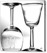 Two Glasses Acrylic Print