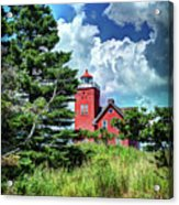 Two Harbors Lighthouse Acrylic Print