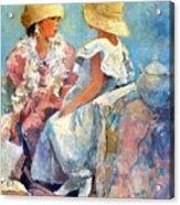 Two Hats Acrylic Print