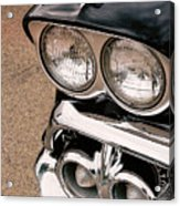 Two Headlights Acrylic Print