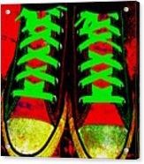 Two Left Feet Acrylic Print
