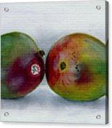 Two Mangoes Acrylic Print