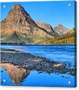 Two Medicine Lake Sunrise Panorama Acrylic Print